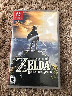 Legend of Zelda: Breath of the Wild (Nintendo Switch, 2017) Tested!