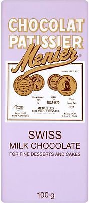 Menier Swiss Milk Chocolate (4x100g)