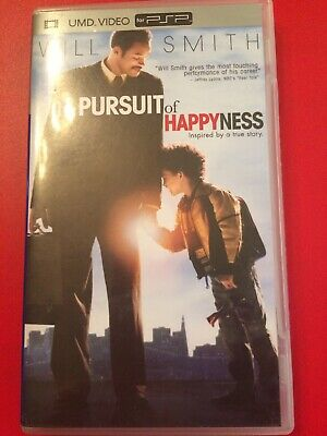 """Sony PSP """"The Pursuit Of Happiness"""" Movie For PSP"""