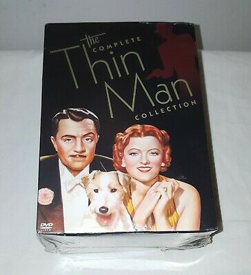 NEW SEALED The Complete Thin Man Collection DVD 7 Disc Box Set Powell Loy