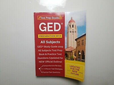 Ged Preparation 2019 All Subjects GED Study Guide 2019 All Subjects Test Prep B