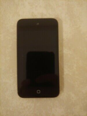 Apple iPod Touch — 4th Generation — Black, 8 GB — Good Condition