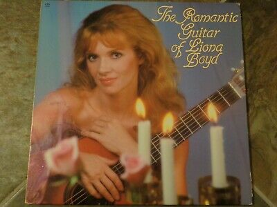 """Album By Liona Boyd, """"The Romantic Guitar Of Liona Boyd"""" on Silver Eagle Records"""