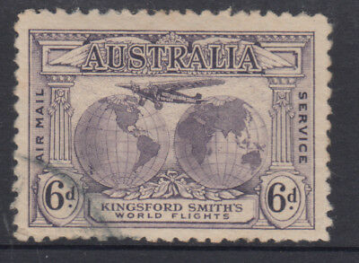 AUSTRALIA 1931 6d Kingsford Smith CTO Full Gum