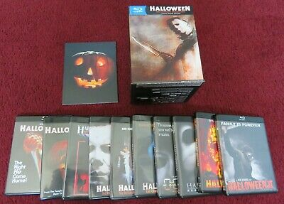 Halloween Blu Ray Box Set.Halloween The Complete Collection Limited Deluxe Edition Blu Ray