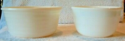 """Vintage GE General Electric Milk Glass Ribbed Mixing Bowl for Stand Mixer 7-3/8"""""""