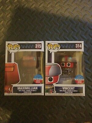 NYCC 2017 Funko POP The Black Hole Vincent & Maximillian Toy Tokyo Set Of 2