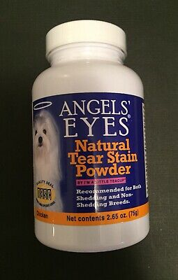 Angels Eyes Chicken Formula 75 gram Natural Tear Stain Powder for Dogs 09/18