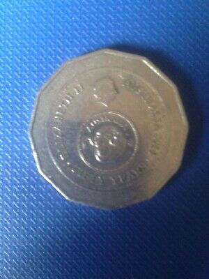 Australian 2016 50 Cent Coin - Australia Fifty 50 Years Of Decimal Currency Ram