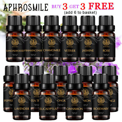100% Pure & Natural Essential Oil Aromatherapy Therapeutic Grade Essential Oils