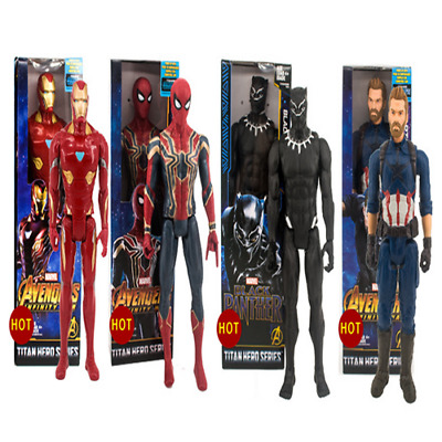 Marvel The Avengers Superheld Spiderman Action Figur Figuren Spielzeug 30cm doll