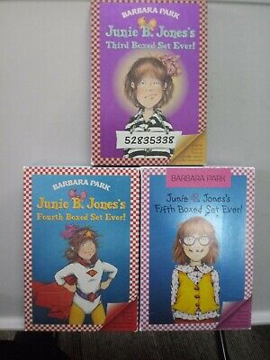 LOT of JUNIE B JONES SOFTCOVERS 3rd, 4th, & 5th Boxed Set Books 9-20 (12 books)