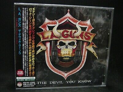 L.A. GUNS The Devil You Know + 2 JAPAN CD Guns N' Roses Brides Of Destruction