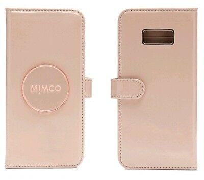 new styles caff4 576b4 MIMCO FLIP PHONE Case SAMSUNG S8 PLUS BLACK Enamour ROSEGOLD RRP99 ...