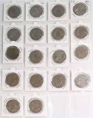18x 1973 Key Date Australian 50c Fifty Cent Coins Circulated