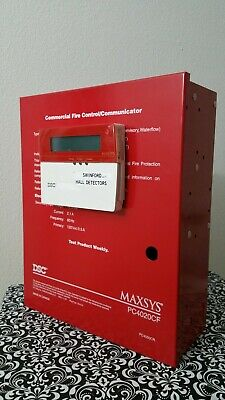 Maxsys PC4020CF Commercial Fire Control Communicator Panel