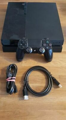Playstation 4 / PS4 Konsole - inkl. Kabel, Original Sony Controller, 500 GB