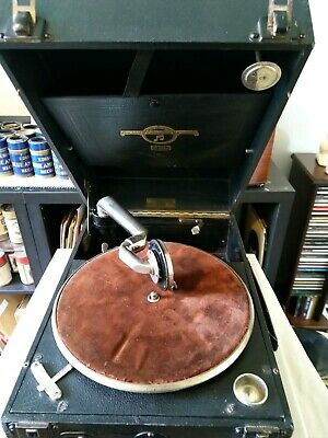 Columbia Vivatonal Portable Gramophone, Fully Restored