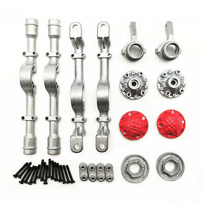 WPL 4WD Metal Front+Rear Axle Housings Kits Replaced For B-14 Truck 1/16 RC Car