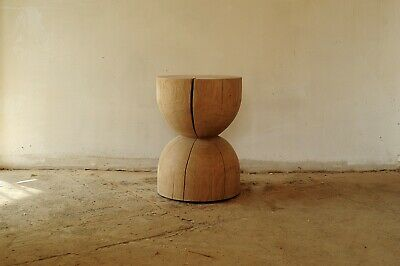solid, wood, round, table, handmade, oak, coffee, side, natural,