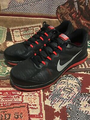 size 40 c6f28 a40a0 Nike Dual Fusion Run 3, Men s Training Running Shoes US 13 Black Red 653596