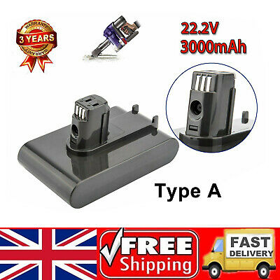 3Ah 22.2V Vacuum Cleaner Battery for Dyson DC31 DC35 Animal DC34 DC44 DC45 64167