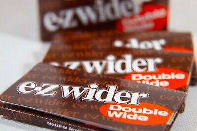 E-Z Wider Double Wide Rolling Papers - 5 Packs - Fresh Tobacco Rolling Papers