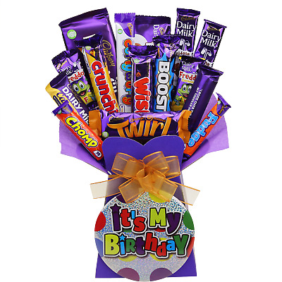 Happy Birthday Cadbury Chocolate Bouquet Gift Hamper