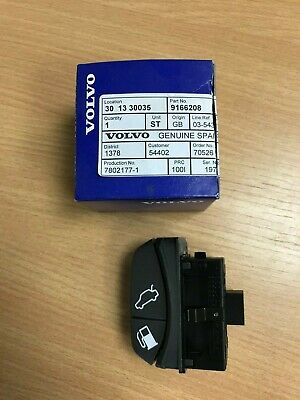 LAND ROVER DISCOVERY 2 FACELIFT FUEL FLAP RELEASE SWITCH BLACK YUG000860PUY