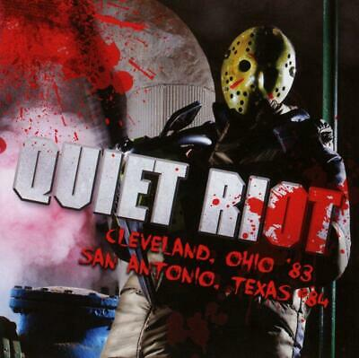 QUIET RIOT – LIVE IN OHIO '83 / TEXAS '84 2CDs (NEW/SEALED)