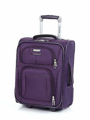 "Ricardo Beverly Hills CALIFORNIA 2.0 17"" Spinner Luggage Purple"