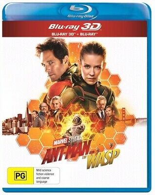 Ant-Man And The Wasp | 3D 2D Blu-ray (BONUS POSTER) Blu-Ray 3D