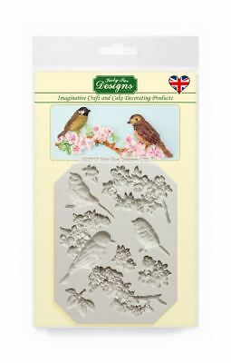 Katy Sue Design Mat Fondant Cake Icing Craft Embellishment Mould - Blossoms