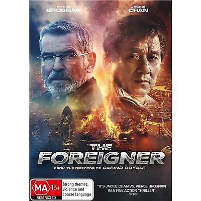 The Foreigner DVD 2018 MA 15 + / Buy 1 DVD get 2nd DVD at half price!