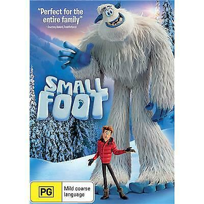 Smallfoot DVD 2018 PG / Buy 1 DVD get 2nd DVD at half price!