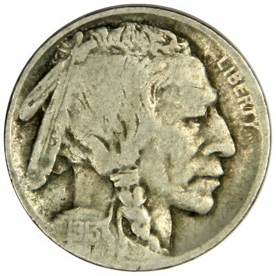 1913-D Type 2 Buffalo Nickel - Nice Fine/Vf - Priced Right!