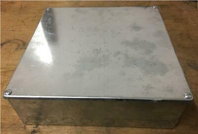 DT50112124G Galvanised Adaptable Steel Box Electrical Enclosure 300x300x100mm