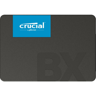 """Crucial CT480BX500SSD1 SSD SATA - 2.5"""" 480GB BX500 - Solid State Disk - Serial"""