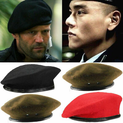 d17ff4ce64f94 Unisex Military Army French Artist Soldier Hat Wool Beret Men Women Uniform  Cap
