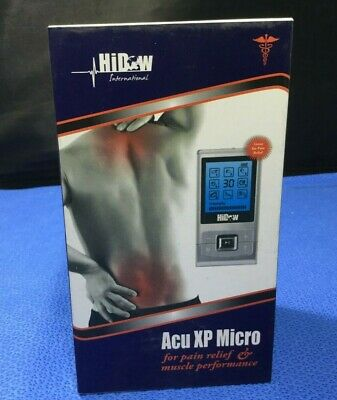 NEW/SEALED Hi-Dow Acu XP Micro Physical Therapy Massager    Ref HD-K102598   qz
