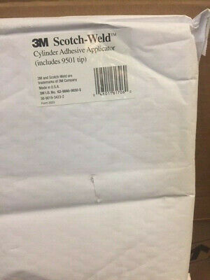 3M Scotch-Weld Cylinder Adhesive Applicator With 9501 Tip (New)
