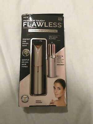Finishing Touch Flawless Women's Painless Hair Remover Lavender/rose Gold.
