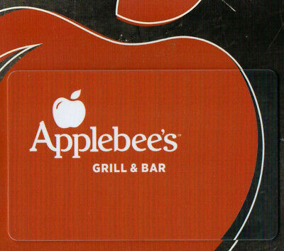$25 Applebee's Restaurant Gift Card   FREE USA SHIPPING