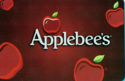 $25 Applebee's Restaurant Gift Card with  FREE SHIPPING IN THE USA