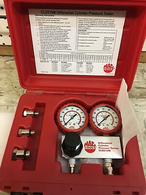 Mac Tools Cld210M Differential Cylinder Pressure Tester - Very Good Condition