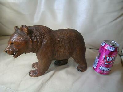 Superb large antique Black Forest bear. 11 inches.