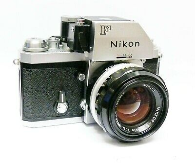 Nikon F Photomic + Nikkor S-C Auto 50Mm F1.4. Stunning And Rare Condition. Mint-