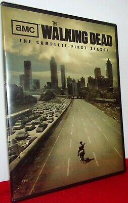 The Walking Dead: The Complete First Season: Brand New Dvd: Free Shipping