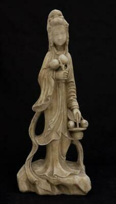 Carved Stone Figure Of A Standing Beauty