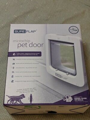 SureFlap Microchip Pet Door White OPEN BOX